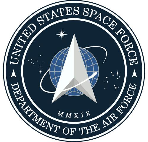 Logo for US Space Force